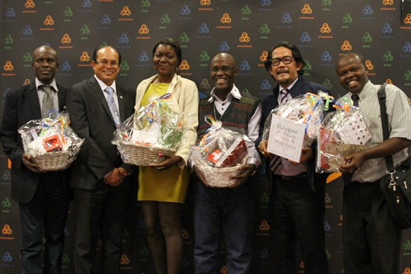 Awards at COPs honour outstanding practitioners