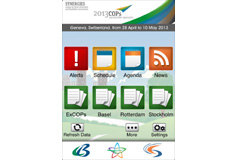 Synergies app launched at 2013 COPs